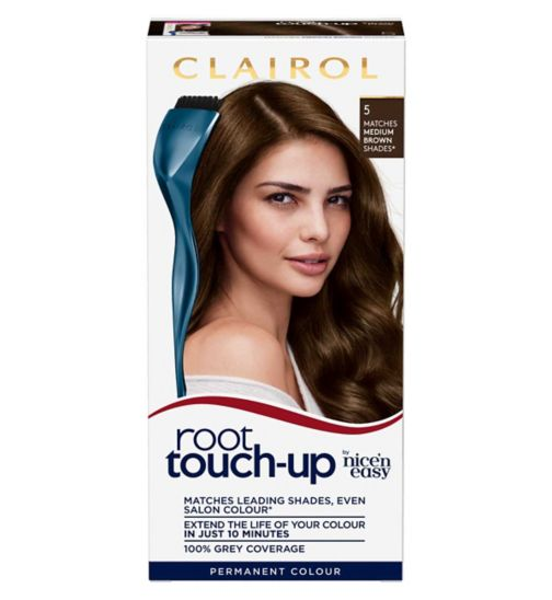 Clairol Root Touch Up 5 Medium Brown Hair Dye
