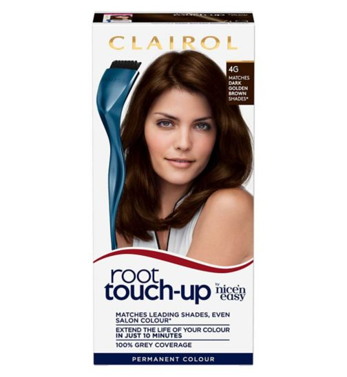 Clairol Root Touch Up 4G Dark Golden Brown Hair Dye