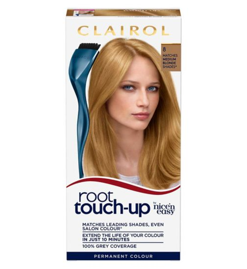 Clairol Root Touch Up 8 Medium Blonde Hair Dye