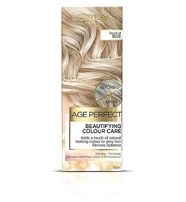 Image of L'Oreal Age Perfect Colour Care Beige Grey Hair Toner