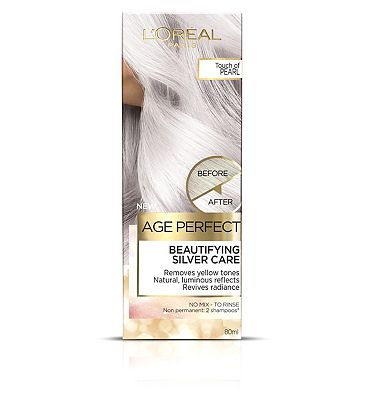 Image of L'Oreal Age Perfect Colour Care Pearl Grey Hair Toner