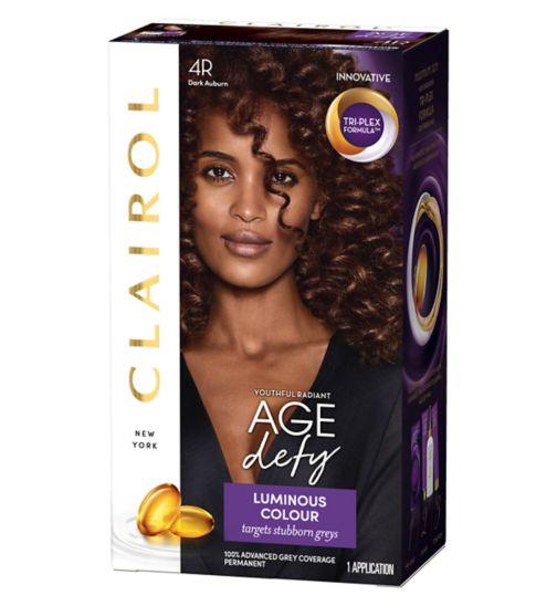 Nice n Easy Age Defy Hair Dye 4r Dark Auburn 177ml