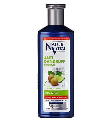 Natur Vital Anti Dandruff Shampoo Greasy