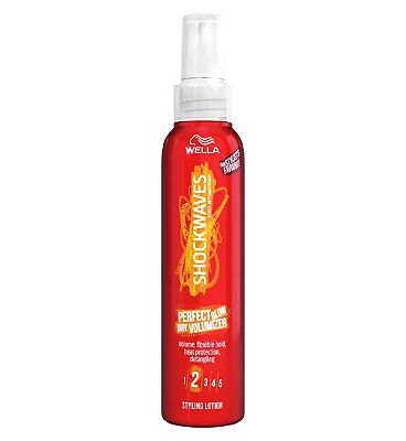Wella Shockwaves Perfect Blow Dry Volumising Hairspray 150ml