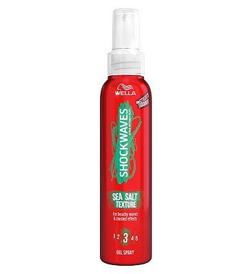 Wella Shockwaves Sea Salt Texture Hairspray 150ml