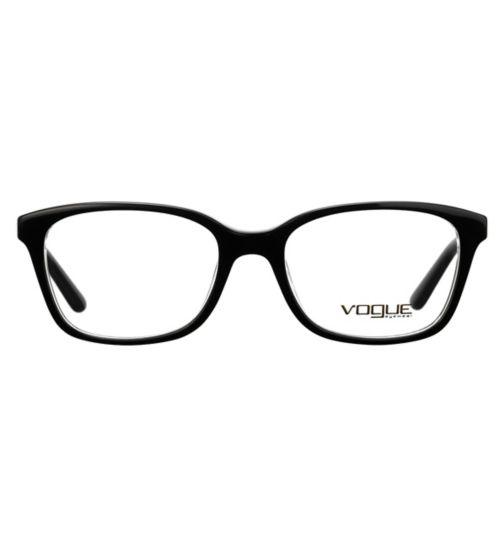 c0a1a5ca8cd Vogue VO2967 Kids  Glasses - Black - £60.00 with an NHS voucher