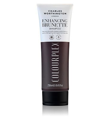 Charles Worthington ColourPlex Enhancing Brunette Shampoo 250ml