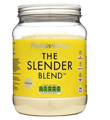 Protein World - The Slender Blend - Vanilla flavour