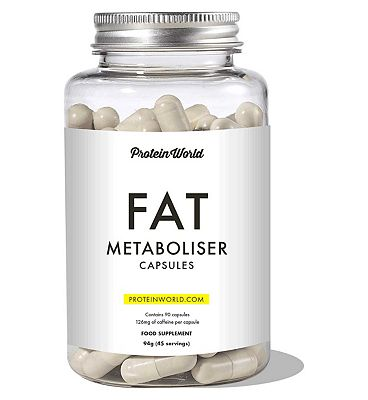 Protein World Fat Metaboliser Capsules - 90 Capsules (45 servings)
