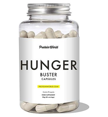 Protein World Hunger Buster Capsules - 90 capsules