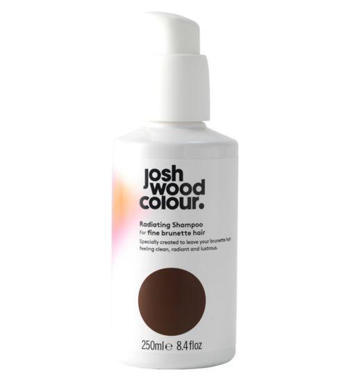 Josh Wood Colour Radiating Shampoo For Fine Brunette Hair