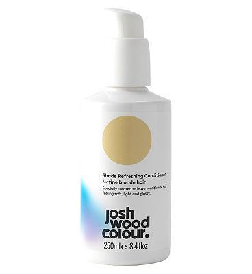 Josh Wood Colour Shade Refreshing Conditioner For Fine Blonde Hair