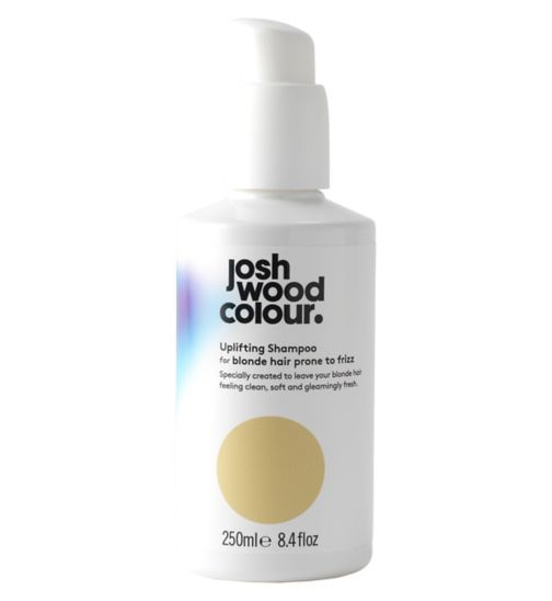 Josh Wood Colour Uplifting Shampoo For Blonde Hair Prone To Frizz