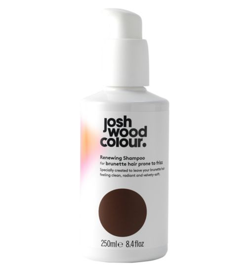 Josh Wood Colour Renewing Shampoo For Brunette Hair Prone To Frizz