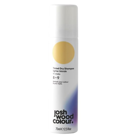Josh Wood Colour Lighter Blonde Tinted Dry Shampoo