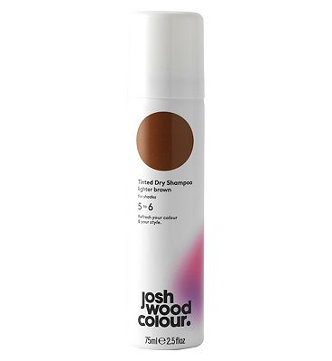 Josh Wood Colour Lighter Brown Tinted Dry Shampoo