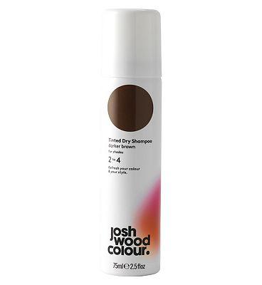 Josh Wood Colour Darker Brown Tinted Dry Shampoo