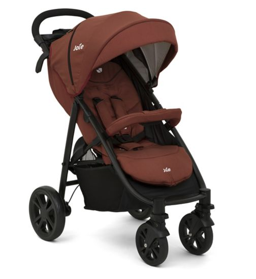 Joie Litetrax 4 Pushchair - Brick Red