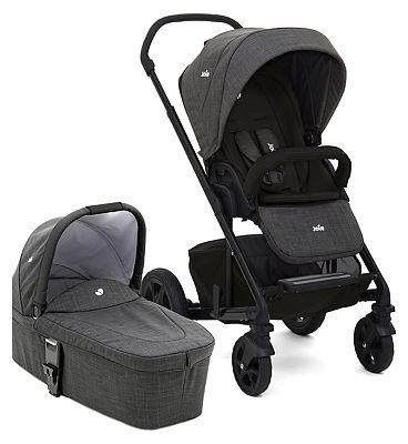 Joie Chrome DLX Pushchair & Carry Cot – Pavement