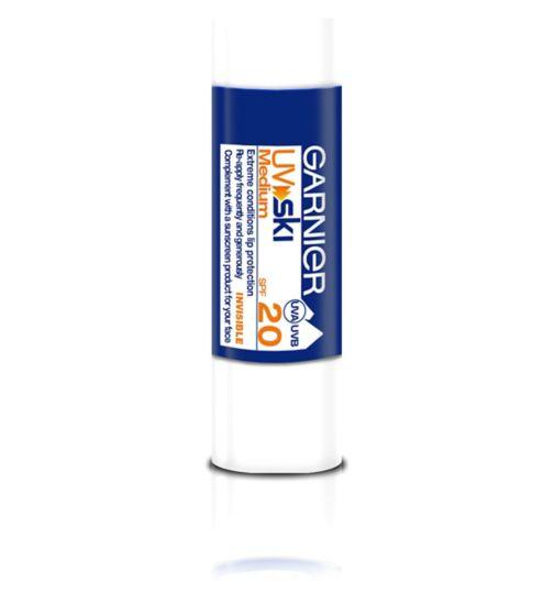 Ambre Solaire UV Ski Extreme Conditions Sun Protection Lip Balm Stick SPF20 4.7ml