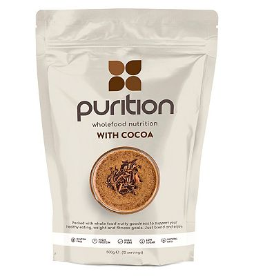 Purition Wholefood Nutrition with Cocoa (500g)