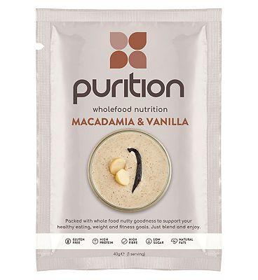 Purition Wholefood Nutrition Macadamia & Vanilla - 40g