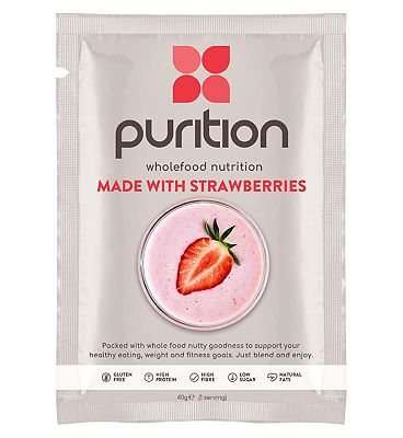 Purition Wholefood Nutrition with Strawberries - 40g