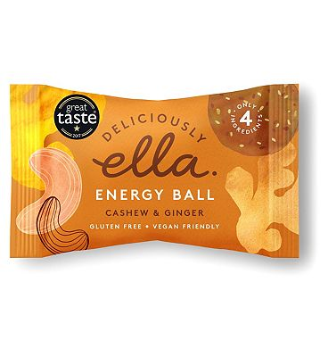 Deliciously Ella Cashew & Ginger Energy Ball - 40g