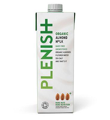 Plenish Organic Almond M*lk - 1 Litre