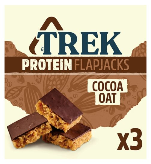 Trek Cocoa Oat Flapjack - 3 x 50g