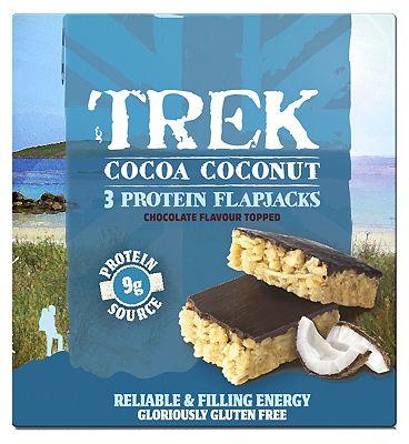 Trek Cocoa Coconut Flapjack 3 x 50g