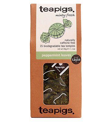 Teapigs Peppermint Leaves - 15 Tea Temples