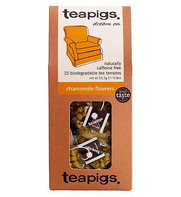 Teapigs Chamomile Flowers - 15 Tea Temples