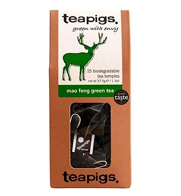 Teapigs Mao Feng Green Tea - 15 Tea Temples
