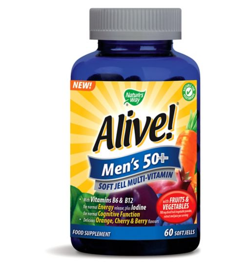 Nature's Way Alive! Mens 50+ Multivitamins