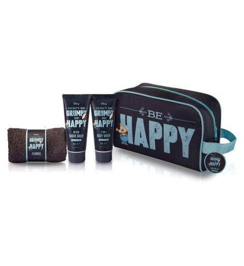 Grumpy Wash Bag Set