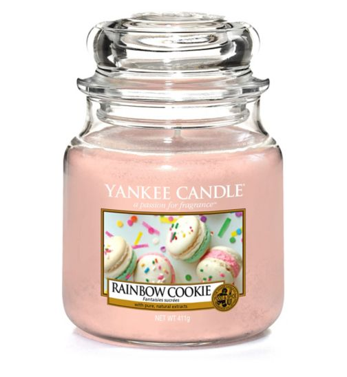 Yankee Candle Classic - Medium Jar Candle Rainbow Cookie