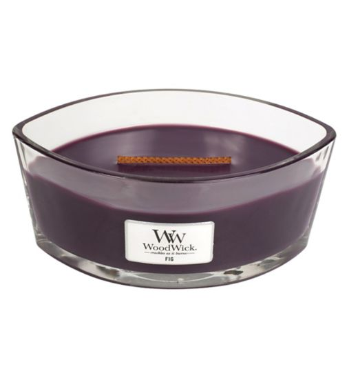 WoodWick fig hearthwick candle