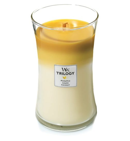WoodWick fruits of summer trilogy candle large