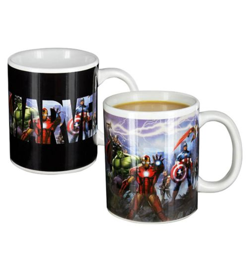 Marvel Avengers heat change mug