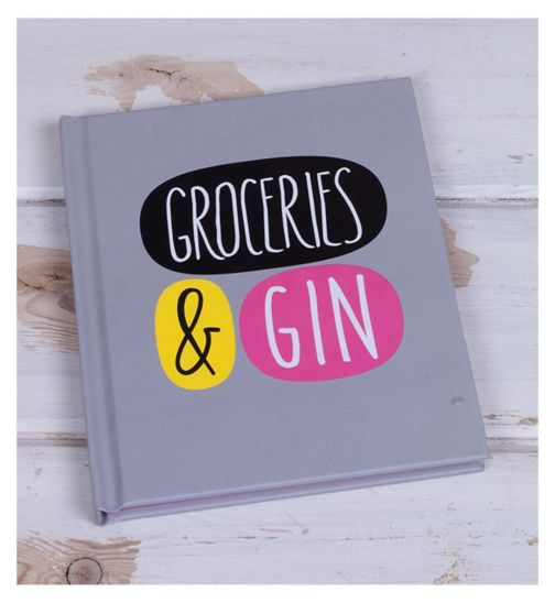 Deck Chair 'Groceries and Gin' Small Notebook