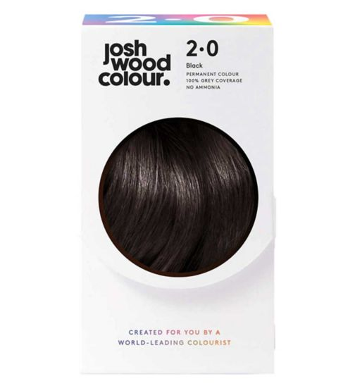 Josh Wood Colour 2.0 Darkest Brown Permanent Hair Dye