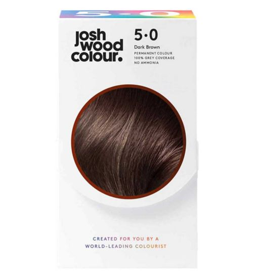 Josh Wood Colour 5.0 Light Brown Permanent Hair Dye