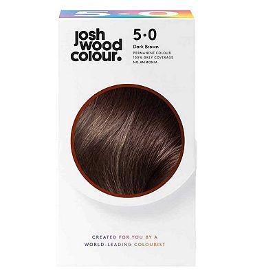 Josh Wood Colour 5.0 Dark Mid Brown Permanent Hair Dye