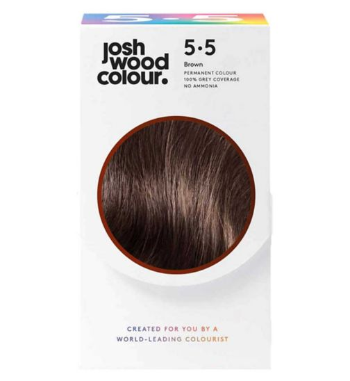Josh Wood Colour 5.5 Lightest Brown Permanent Hair Dye