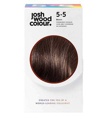 Josh Wood Colour 5.5 Deep Mid Brown Permanent Hair Dye