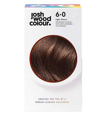 Josh Wood Colour 6.0 Palest Brown Permanent Hair Dye