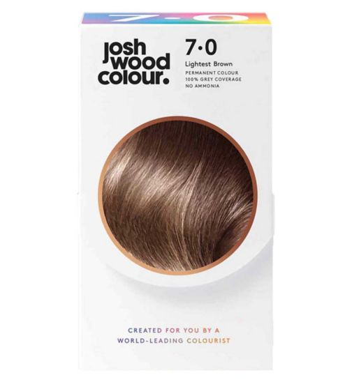 Josh Wood Colour 7.0 Deep Mid-Blonde Permanent Hair Dye