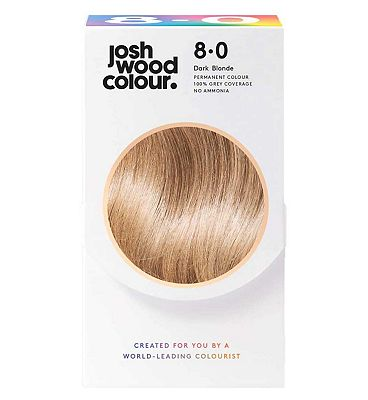 Josh Wood Colour 8.0 Light Mid-Blonde Permanent Hair Dye