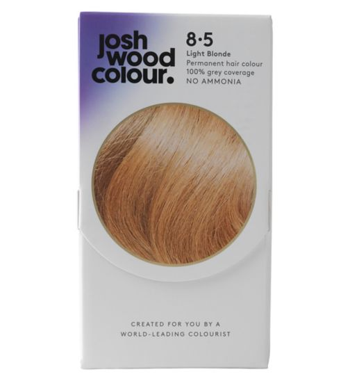 Josh Wood Colour 8.5 Light Blonde Permanent Hair Dye